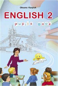Підручники для школи Англійська мова  2 клас           - Карп'юк О. Д.