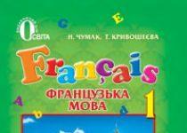 Підручники для школи Французька мова  1 клас           - Чумак Н. П.