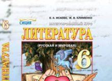 Підручники для школи Литература  6 клас           - Клименко Ж. В.