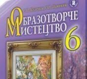 Підручники для школи Образотворче мистецтво  6 клас           - Железняк С. М.