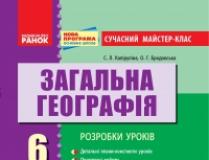 Підручники для школи Географія  6 клас           - Міхелі С. В.