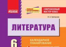 Підручники для школи Література  6 клас           - Бондарева Е. Е.
